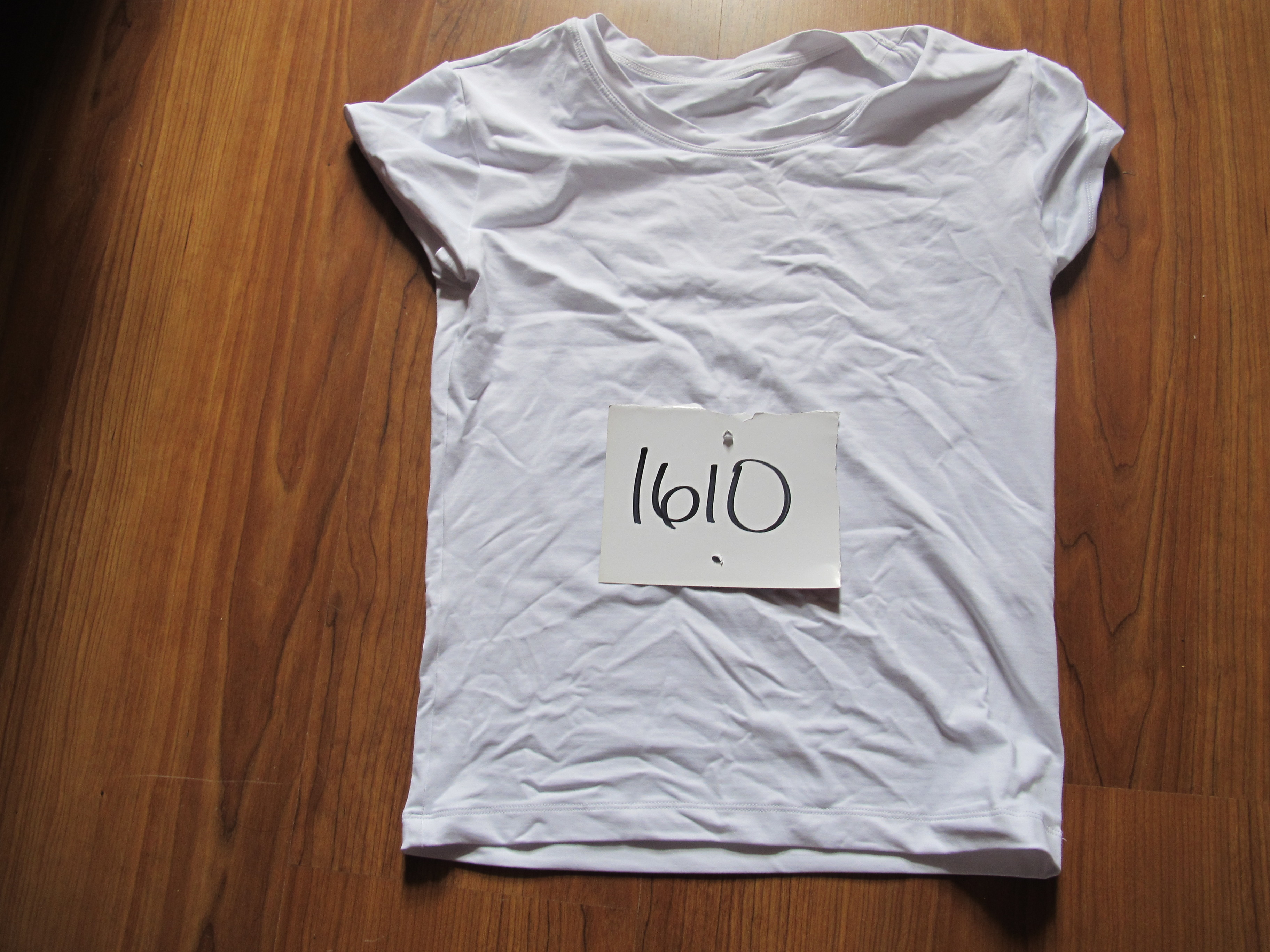Picture of my shirt with my number